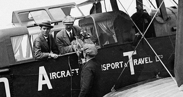 """Резултат с изображение за """"първата авиокомпания в света DELAG"""""""""""